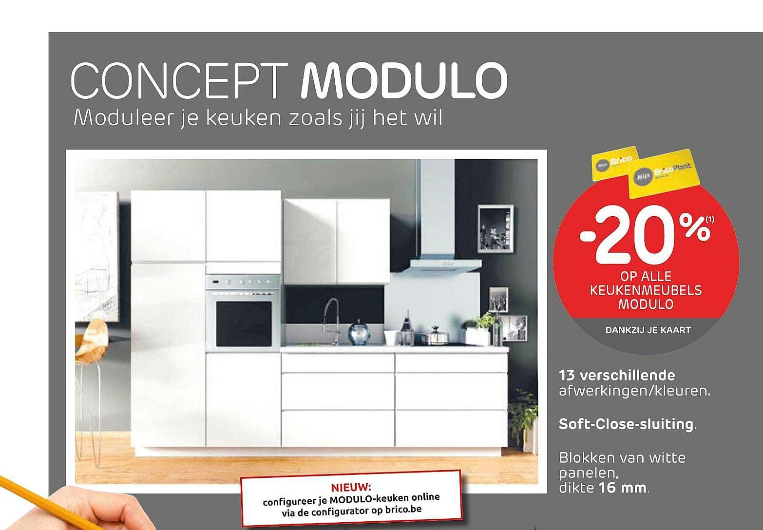 Brico -205 Op Alle Keukenmeubels Modulo