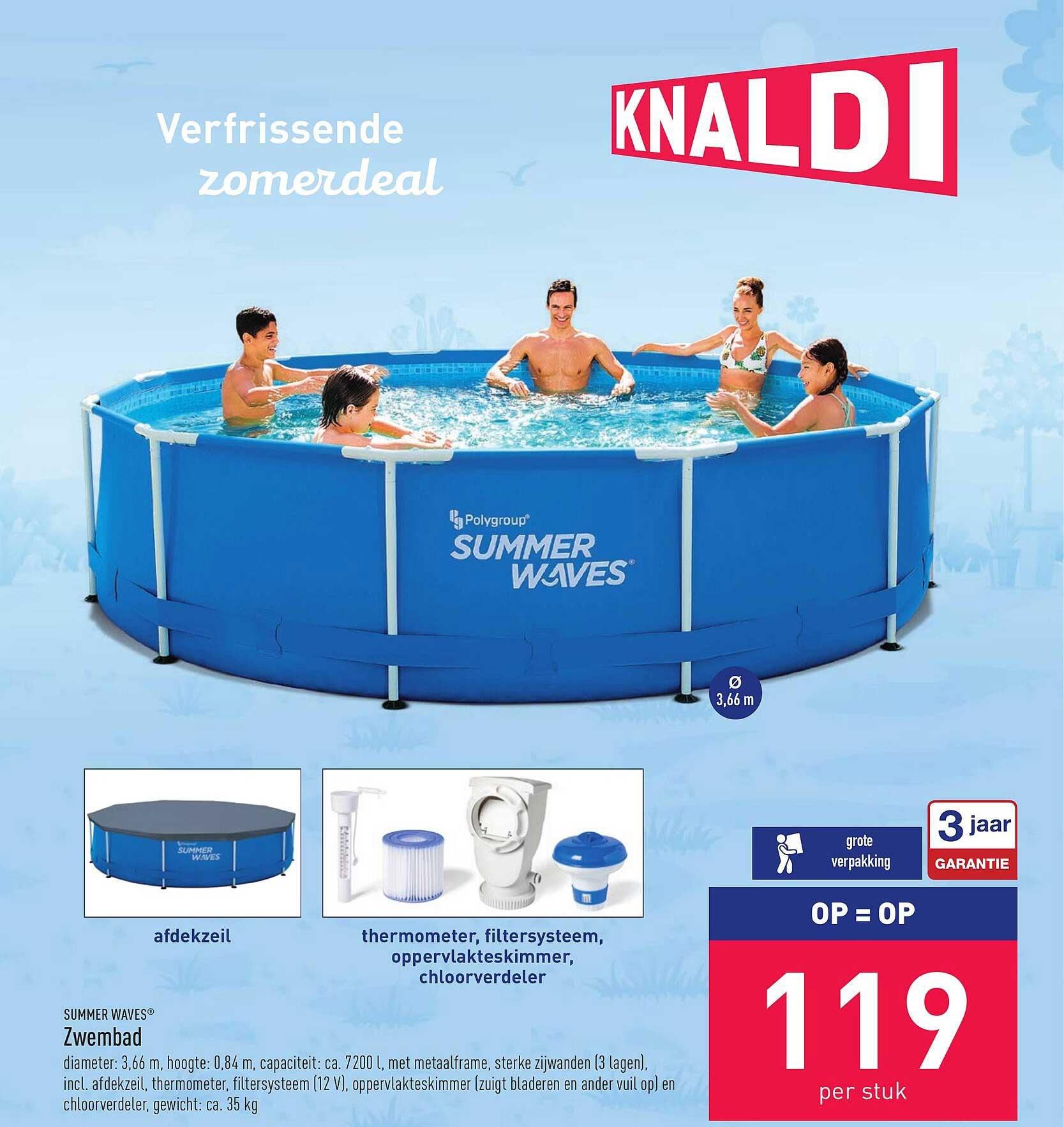 ALDI Summer Waves Zwembad