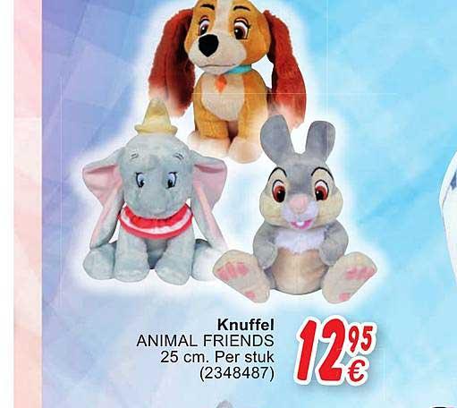 Cora Knuffel Animal Friends 25cm