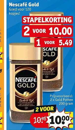 Kruidvat Nescafe Gold