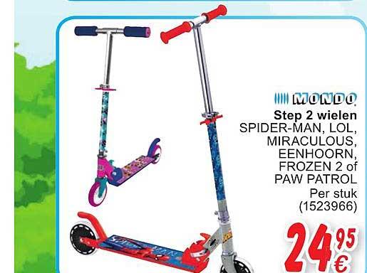 Cora Step 2 Wielen Spider-Man, Lol, Miraculous, Eenhorn, Frozen 2 Of Paw Patrol