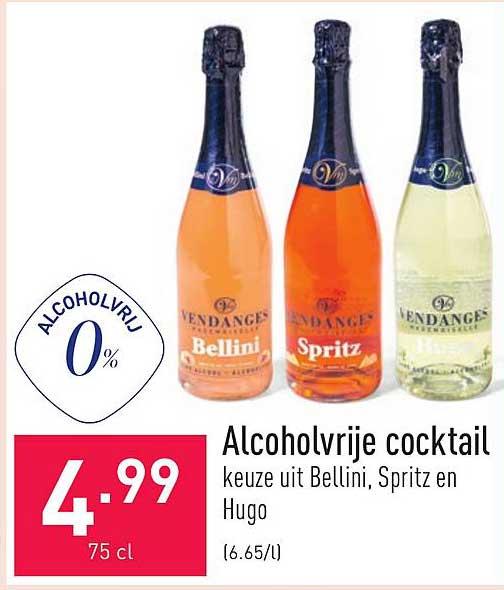 ALDI Alcoholvrije Cocktail