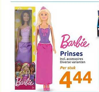 Action Barbie Prinses
