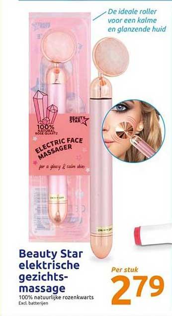 Action Beauty Star Elektrische Gezichtsmassage