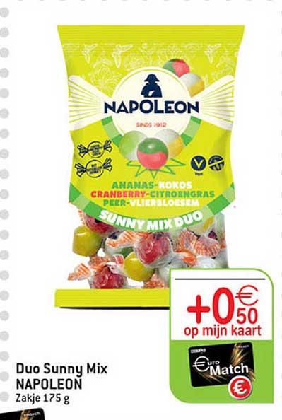 Match Duo Sunny Mix Napoleon