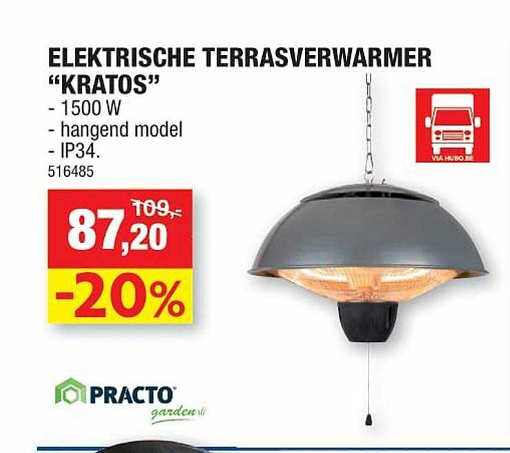 Hubo Elektrische Terrasverwarmer