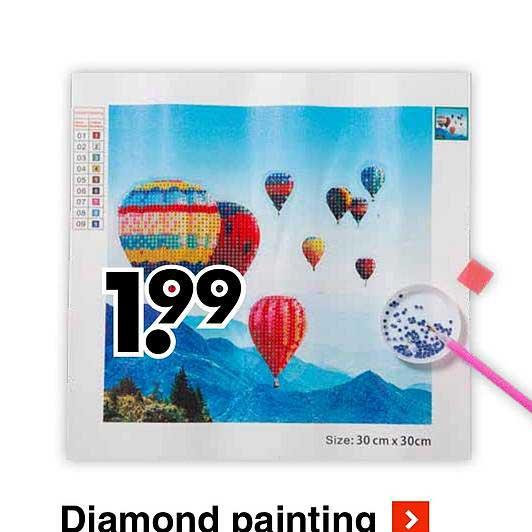Wibra Diamond Painting