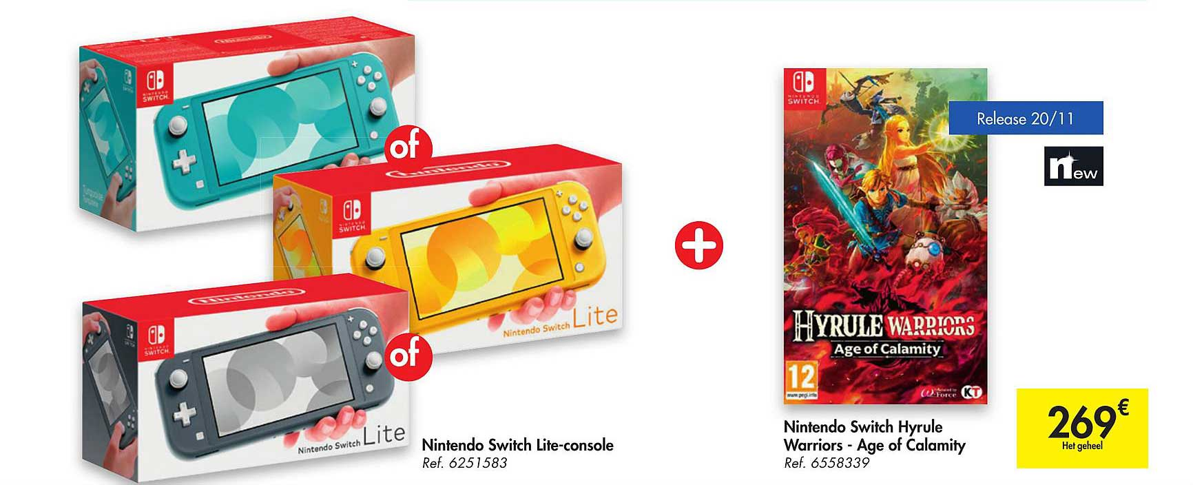 Carrefour Nintendo Switch Lite-console