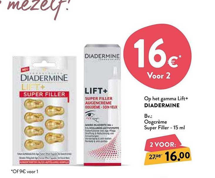 Di Op Het Gamma Lift+ Diadermine