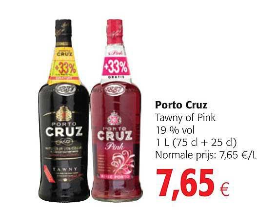 Colruyt Porto Cruz Tawny Of Pink
