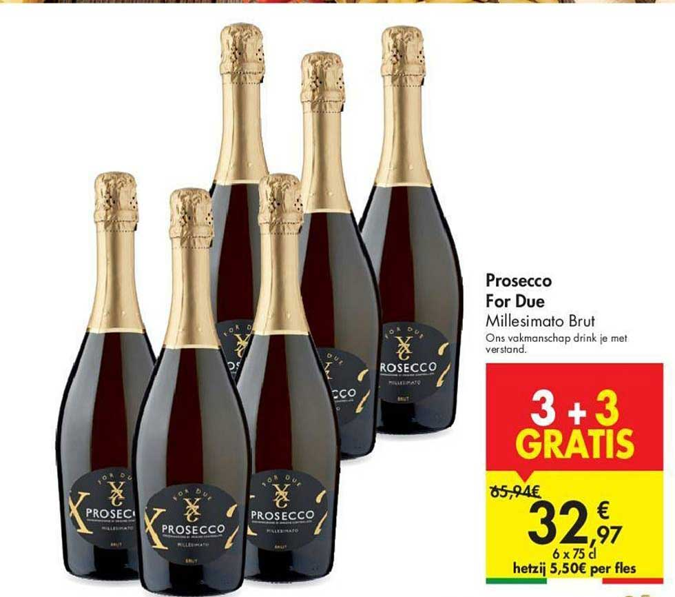 Carrefour Prosecco For Due