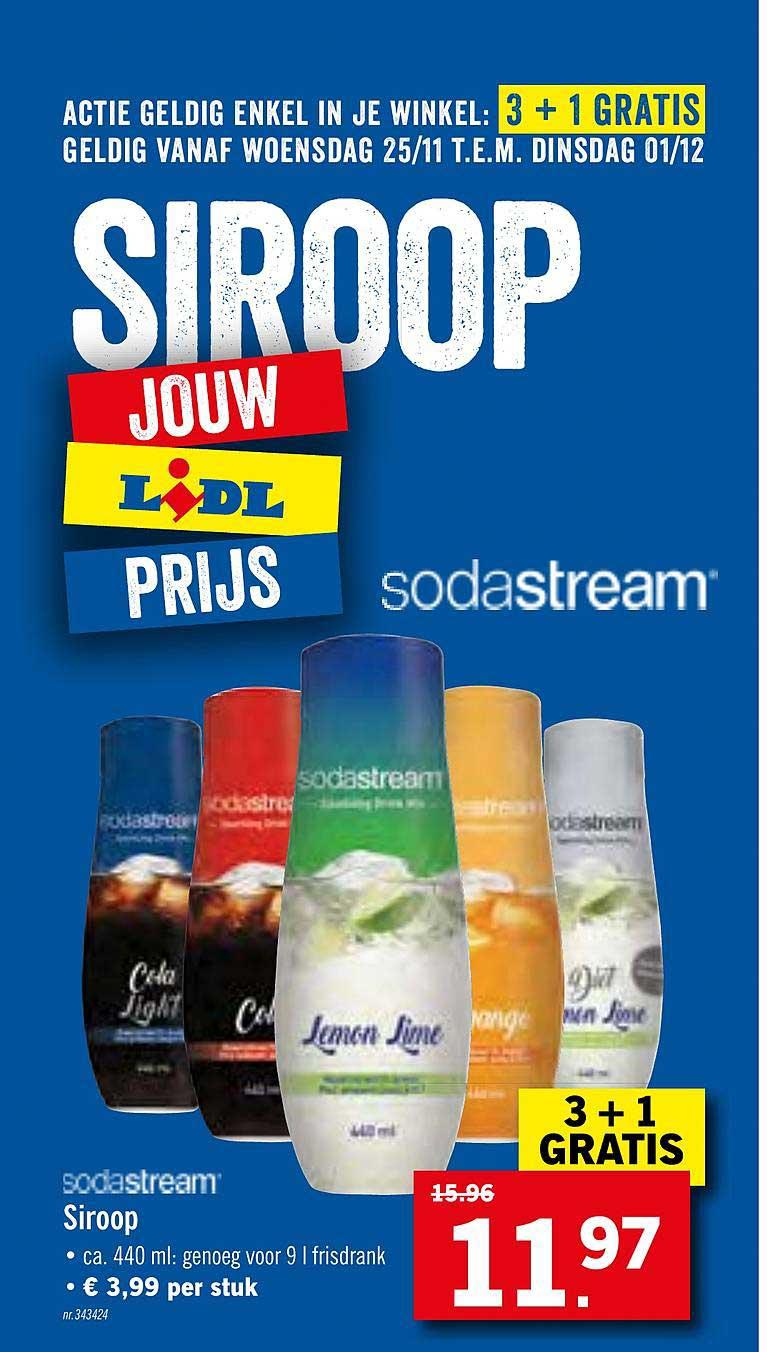Lidl Sodastream Siroop