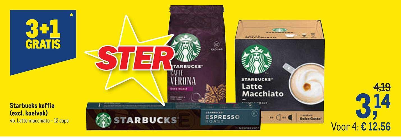 Makro Starbucks Koffie