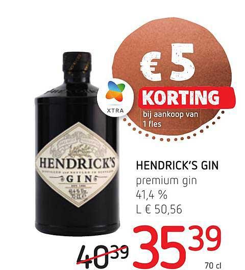 Spar Colruyt Hendrick's Gin