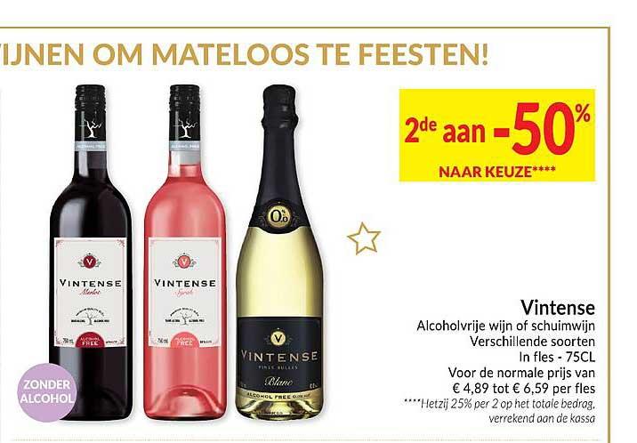 Intermarché Vintense Alcoholvrije Wijn Of Schuimwijn