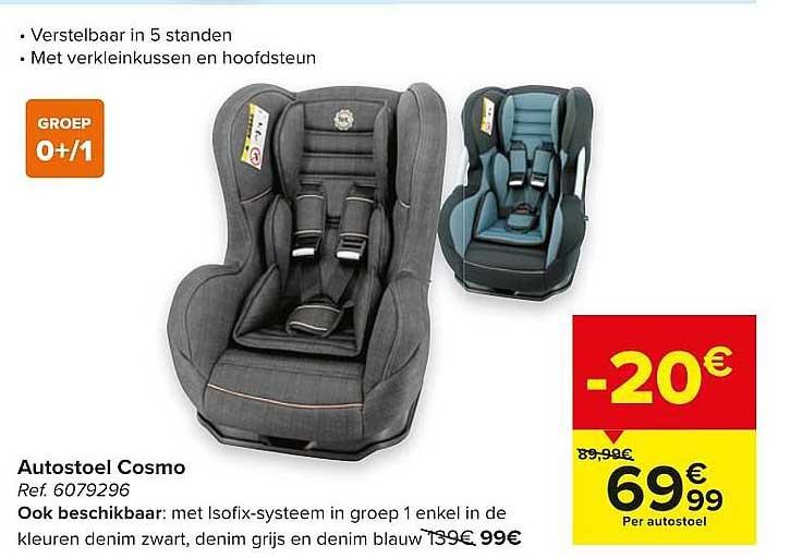 Carrefour Autostoel