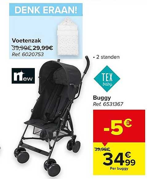 Carrefour Tex Baby Buggy