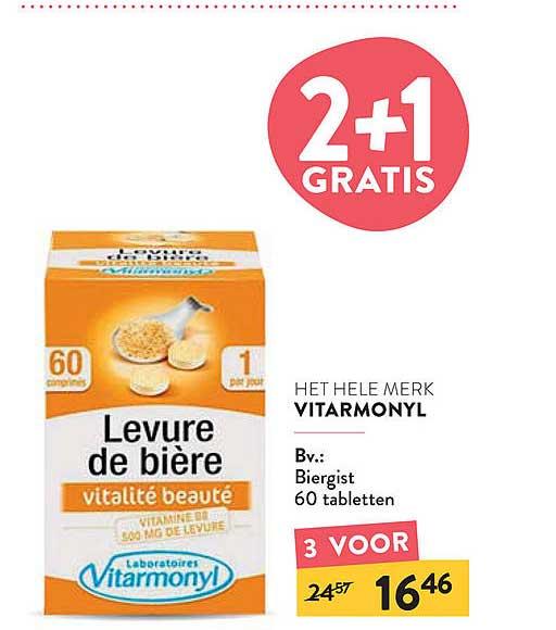 Di Vitarmonyl Biergist 60 Tabletten