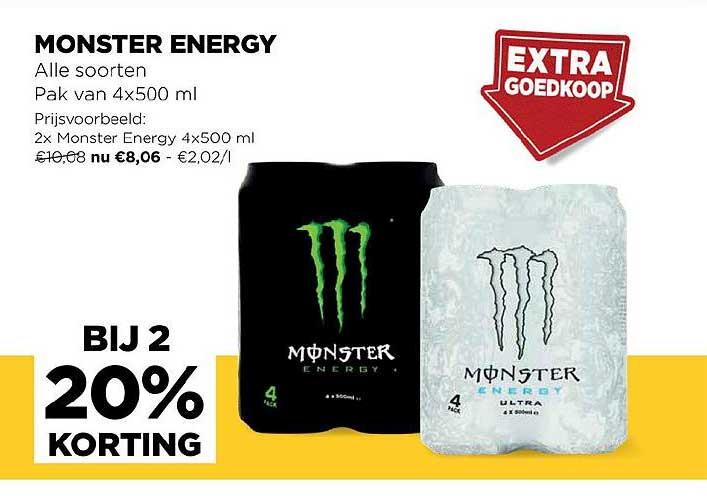 Jumbo Monster Energy