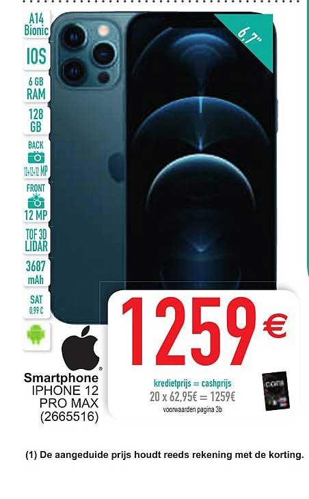 Cora Apple Smartphone Iphone 12 Pro Max
