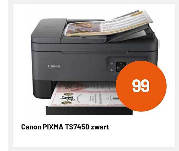 Kamera Express Canon Pixma Ts7450 Zwart