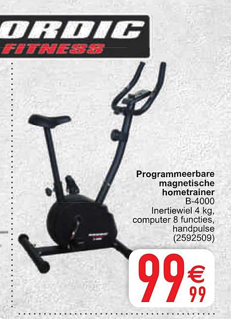 Cora Programmeerbare Magnetische Hometrainer B4000