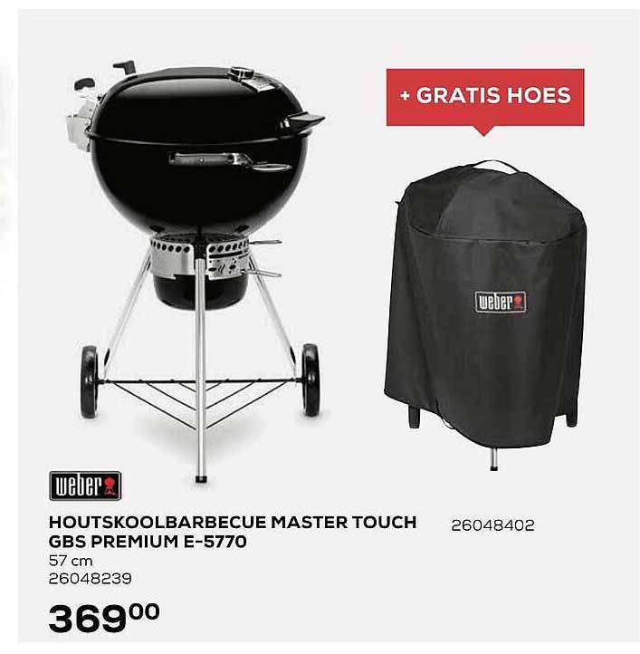 Supra Bazar Weber Houtskoolbarbecue Master Touch Gbs Premium E-5770