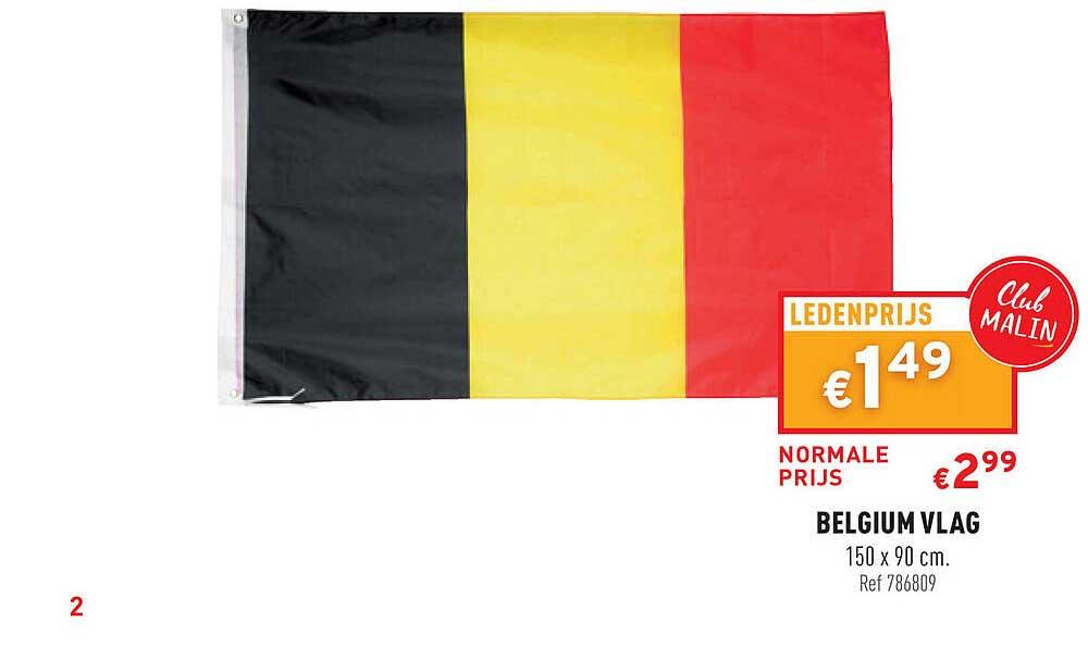 Trafic Belgium Vlag 150x90 Cm