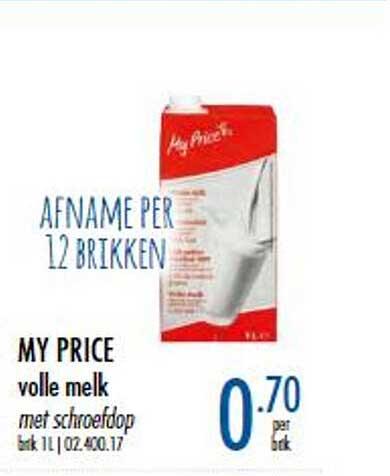 Horeca Totaal My Price Volle Melk