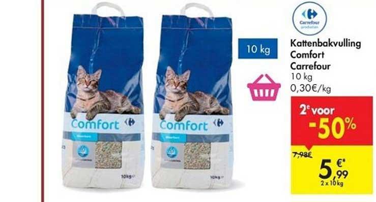 Hyper Carrefour Kattenbakvulling Comfort Carrefour