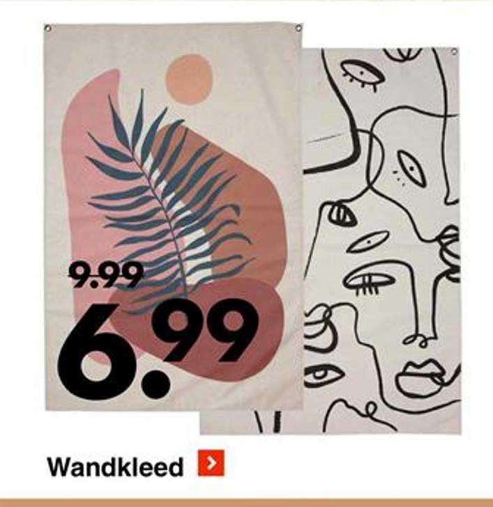 Wibra Wandkleed
