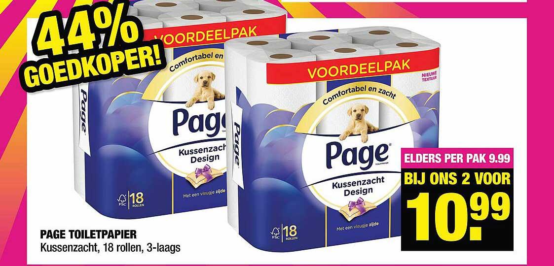Big Bazar Page Toiletpapier