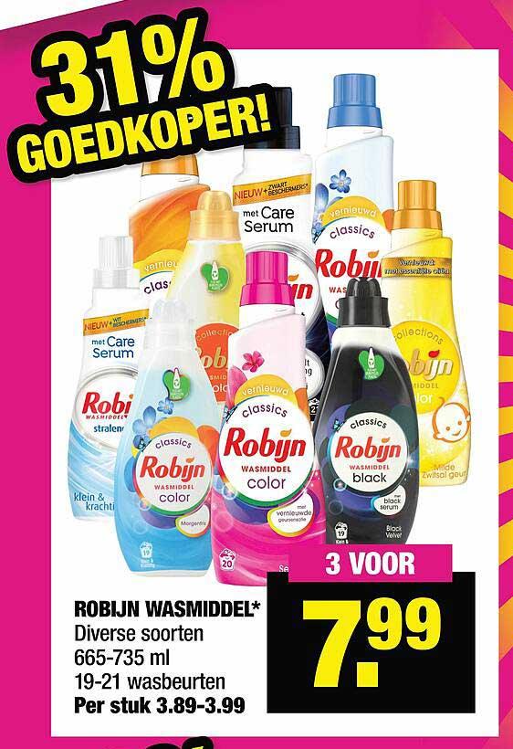 Big Bazar Robijn Wasmiddel