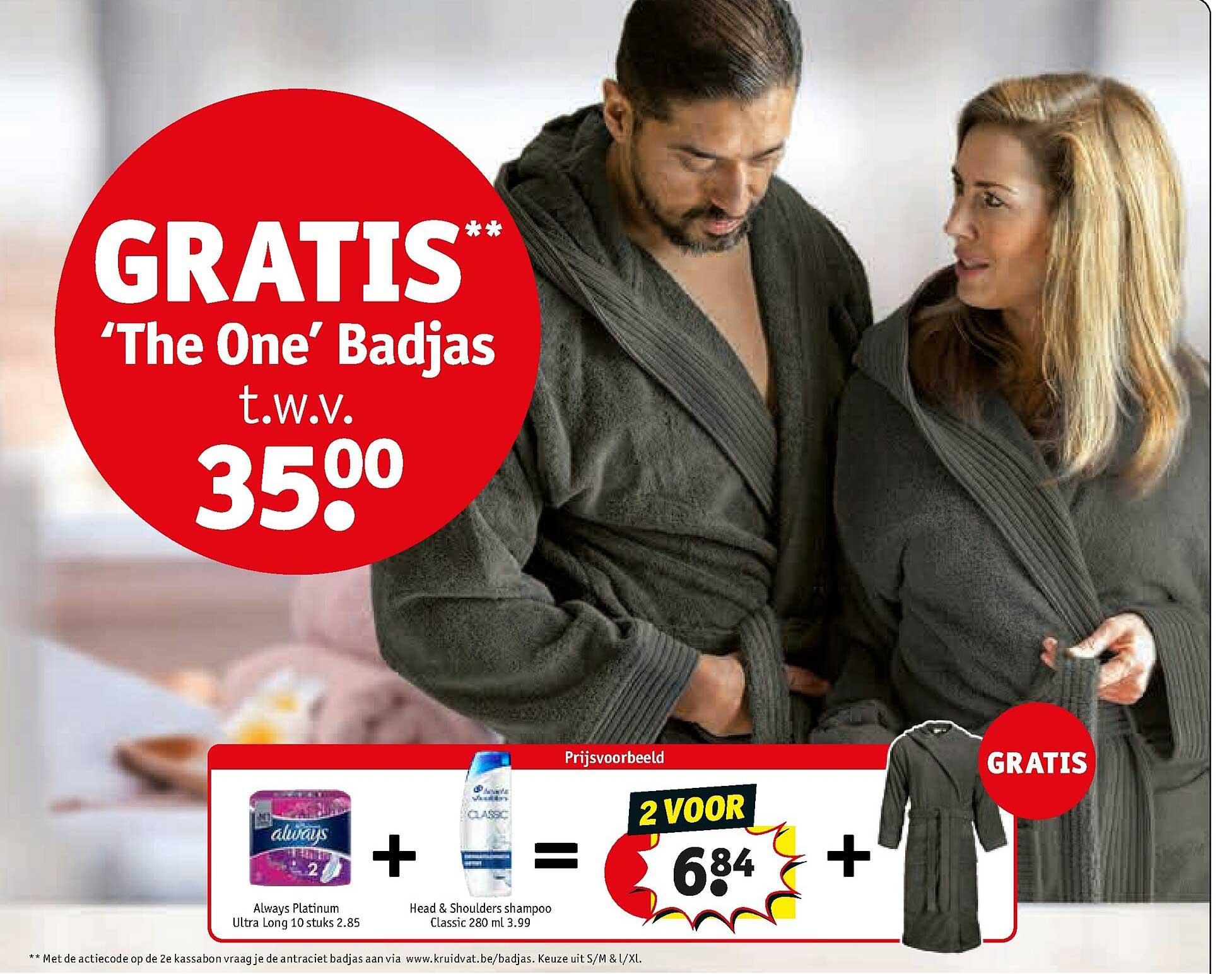 Kruidvat 'the One' Badjas