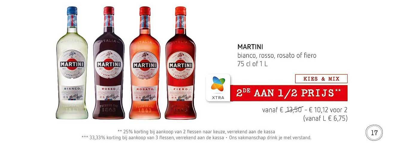 Spar Colruyt Martini