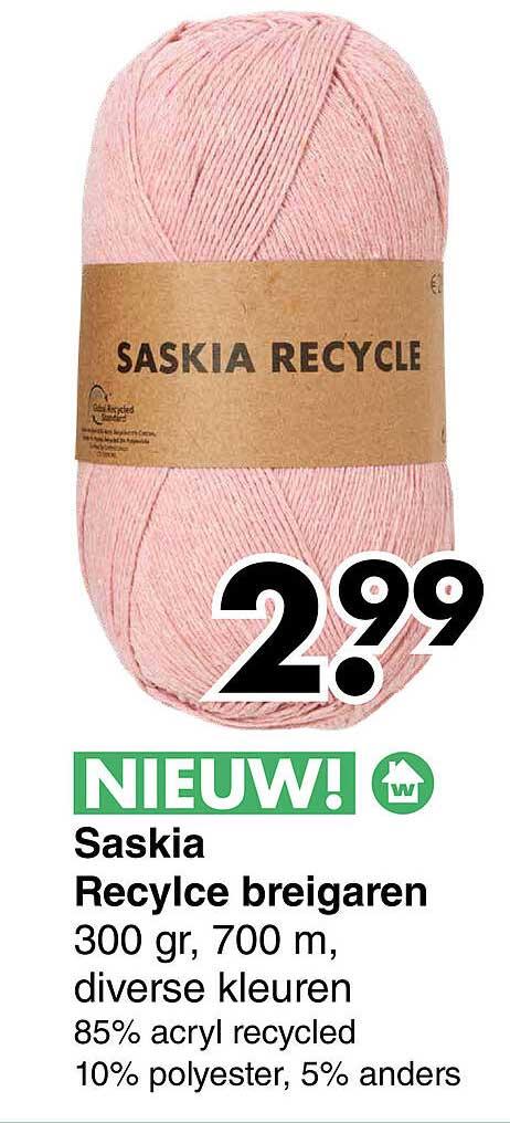 Wibra Saskia Recycle Breigaren