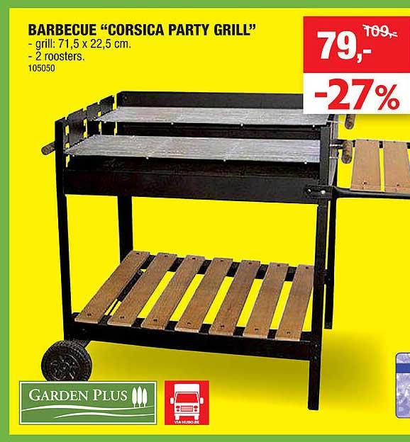 Hubo Garden Plus Barbecue