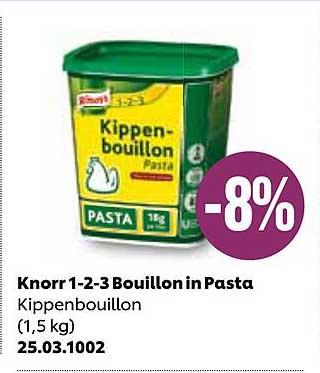 JAVA Knorr 1-2-3 Bouillon In Pasta Kippenbouillon