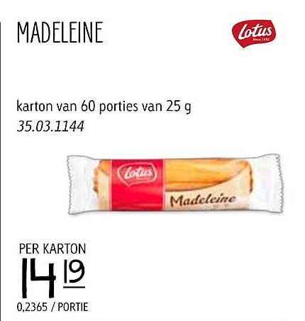 JAVA Madeleine