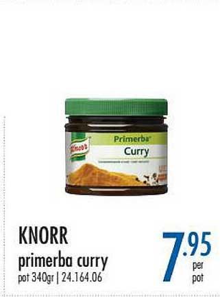 Horeca Totaal Knorr Primerba Curry