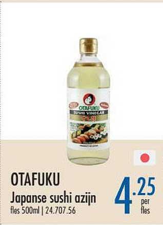 Horeca Totaal Otafuku Japanse Sushi Azijn