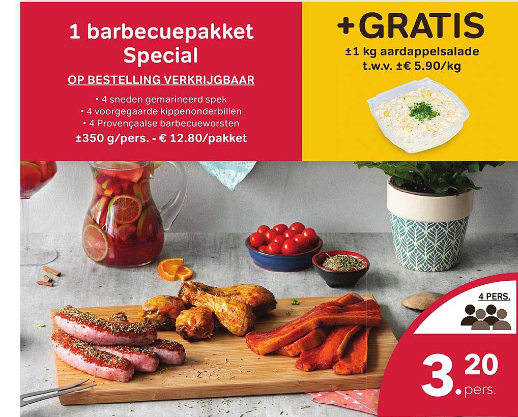 Bon Ap 1 Barbecuepakket Special