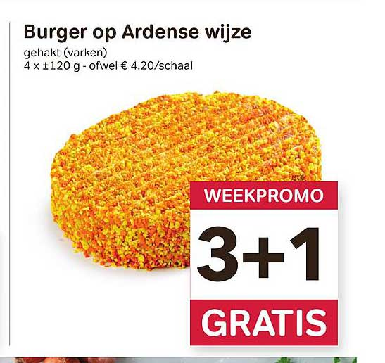 Bon Ap Burger Op Ardense Wijze