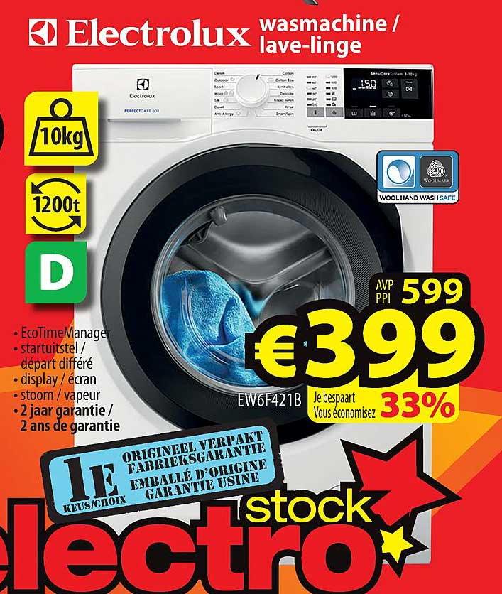 ElectroStock Electrolux Wasmachine - Lave-linge
