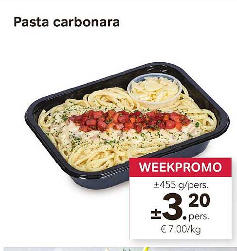 Bon Ap Pasta Carbonara
