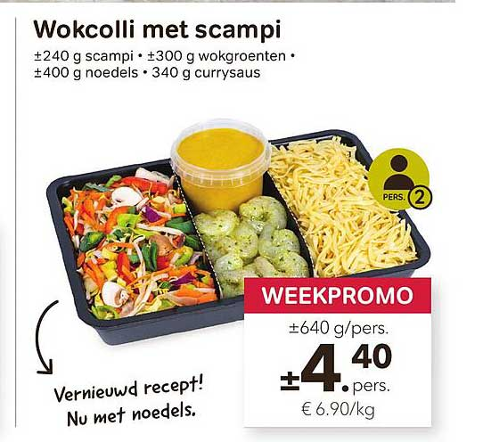 Bon Ap Wokcolli Met Scampi