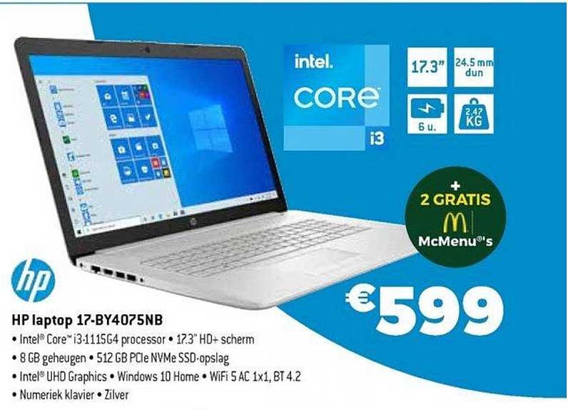Exellent Hp Laptop 17-by4075nb