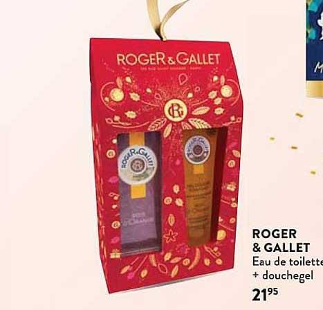 Di Roget & Gallet Eau De Toilette + Douchegel