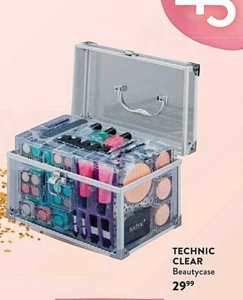 Di Technic Clear Beautycase
