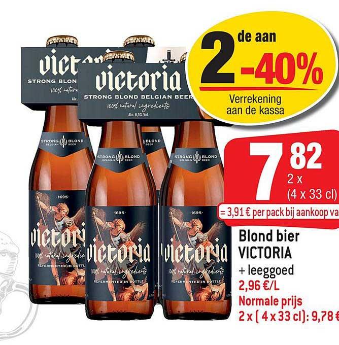 Smatch Blond Bier Victoria